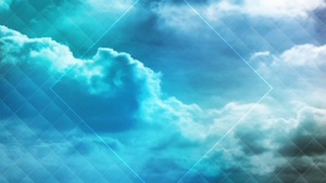 Colored Clouds Teal Motion Background