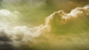 Colored Clouds Yellow Motion Background