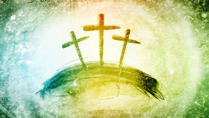 Colorful Crosses 1 Motion Background