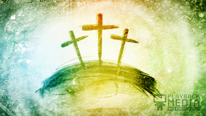 Colorful Crosses 1 Still Background