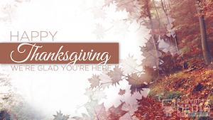 Crisp Morning Thanksgiving 2 Motion Background