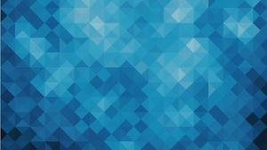 Diamonds Blue Motion Background