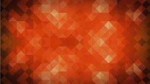 Diamonds Orange Motion Background