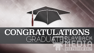 Digital Graduation Motion Background Image