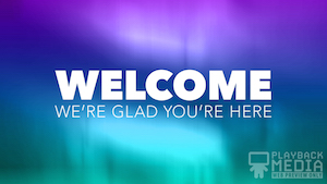 Easter Grace Welcome Motion Background
