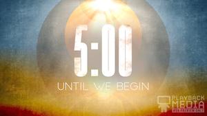 Easter Horizon Church Countdown