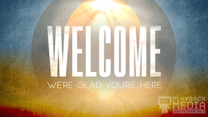 Easter Horizon Welcome Motion Background