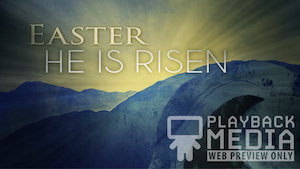 Easter Open Tomb Easter Welcome Motion Background