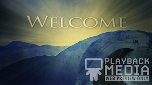 Easter Open Tomb Welcome Motion Background