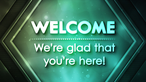 Elegant Geometry Welcome Motion Background