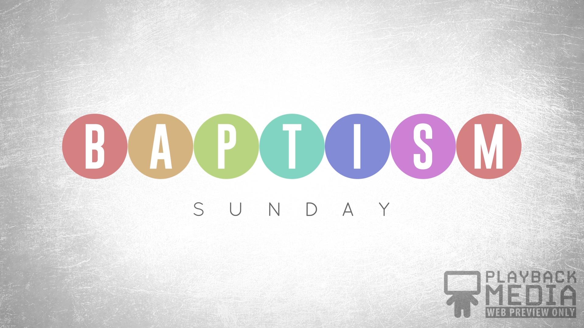 Event Planner Baptism Motion Image