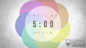 event planner church countdown