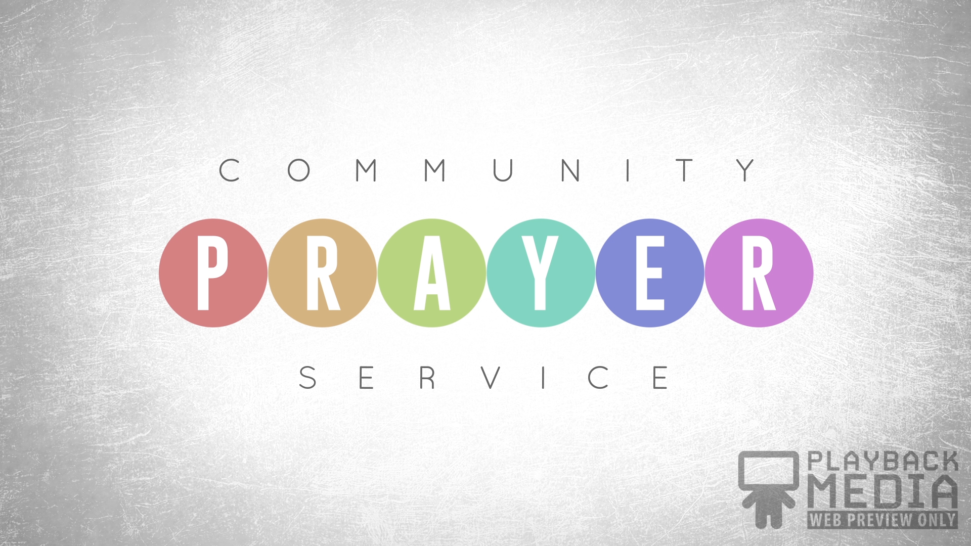 Event Planner Prayer Motion Image