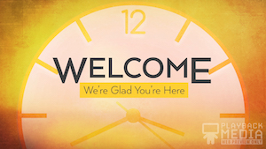Fall Back Welcome Motion Background