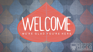 Fall Comfort Welcome Motion Background