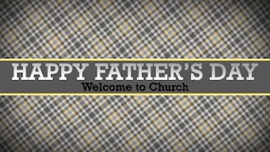 Fathers Day Welcome Motion Background