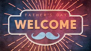 Fathers Day Fun Welcome Motion Background