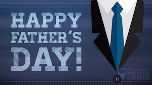 Father's Day Suit 1 Motion Background