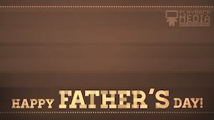 Father's Day Suit 6 Motion Background