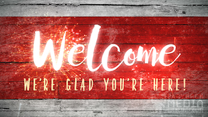 Festive 4th Welcome Motion Background