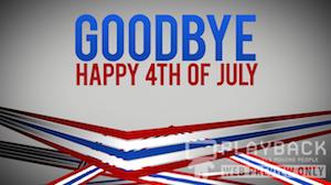 Freedom Lines Goodbye Still Background
