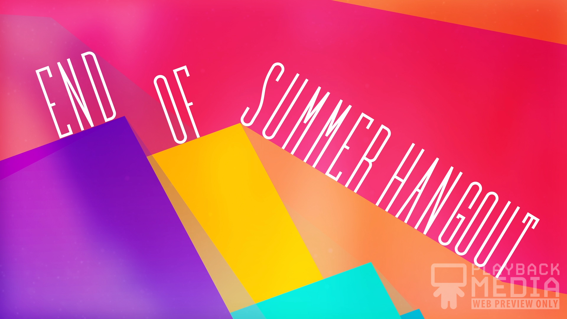 Geometry Lesson Summer Motion Background