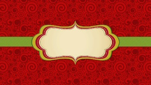 Gift Wrapped Blank Motion Background