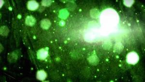 Glitter Green Motion Background