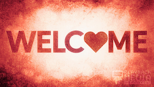 God is Love Welcome Motion Image