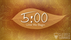 Gold Leaves Countdown