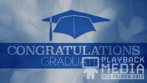 Graduation 1 Motion Background