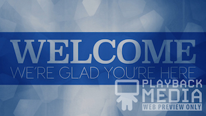 Graduation Welcome Motion Background