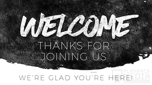 Greyscale Glimmer Welcome Motion Background Image