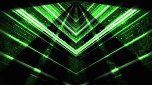 Green Vortex Motion Background