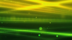 Green Light Beams Motion Background