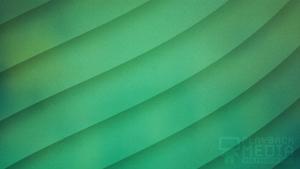 Emerald Waves 4 Still Background