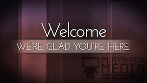 Lighthearted Welcome Still Background