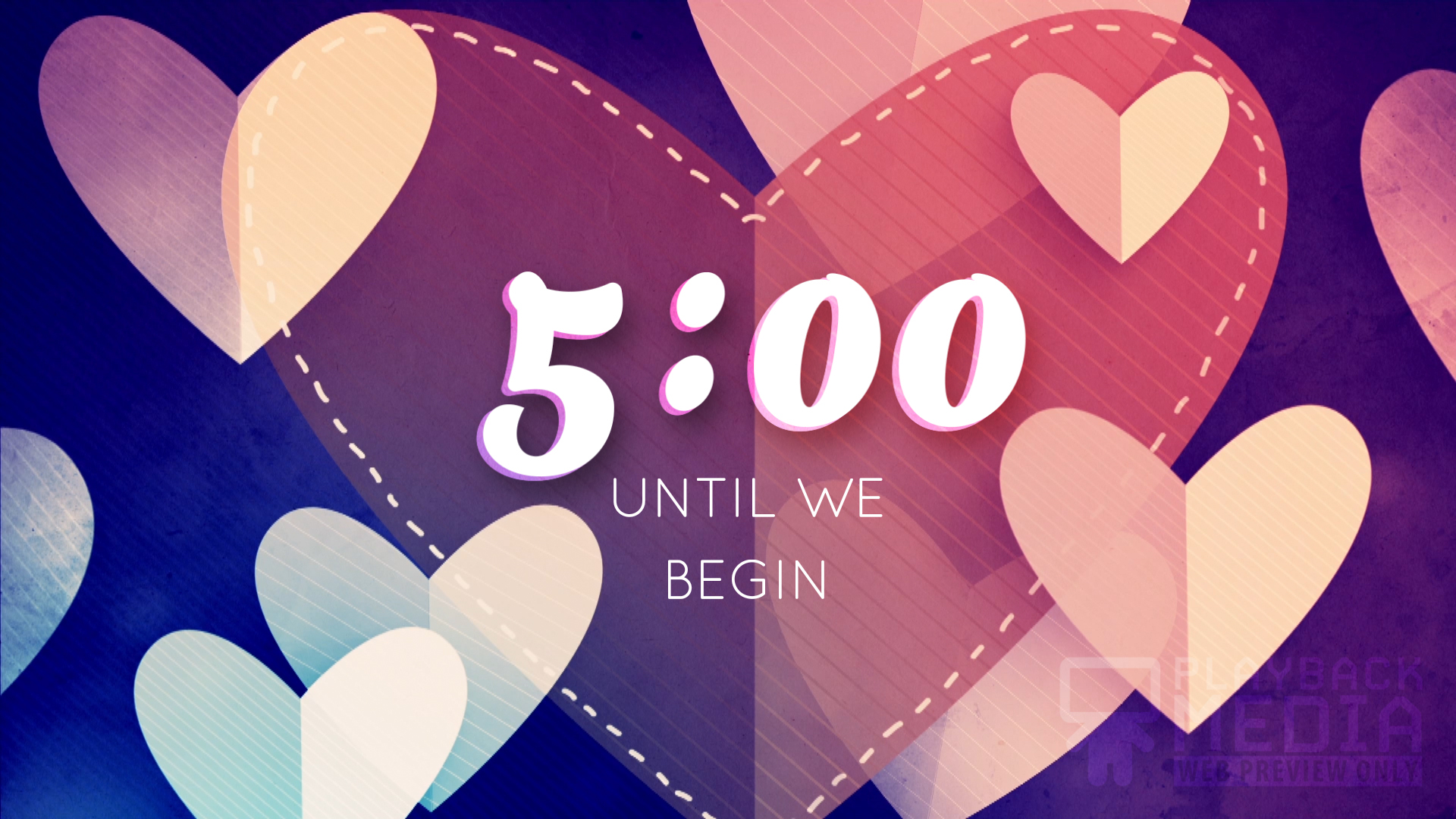 Heartfelt Love Countdown Image
