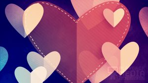 Heartfelt Love Motion Background