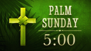 Holy Palms church Countdown