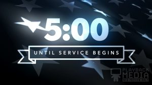 In Memoriam church countdown