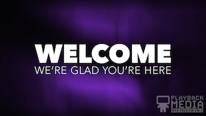 Lent Grace Welcome Motion Background