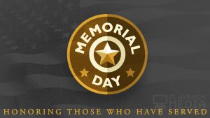 Memorial Badge Motion Background