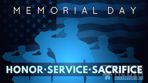 Memorial Day Salute 4 Motion Background