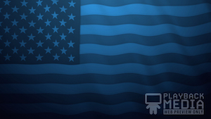 Memorial Day Salute 6 Motion Background