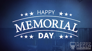 Memorial Day Still Background