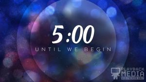 Merry Midnight Church Countdown