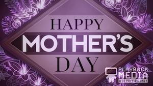 Mother's Day Bouquet 1 Motion Background