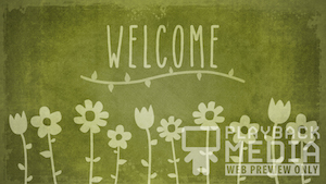 Mother's Day Garden Welcome Motion Background