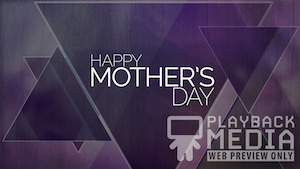 Mother's Day Triangles 1 Motion Background